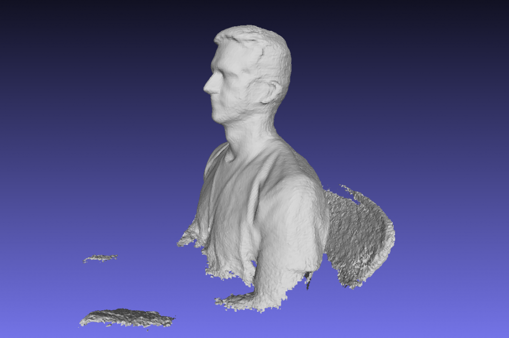 kinect reconstructme scan example