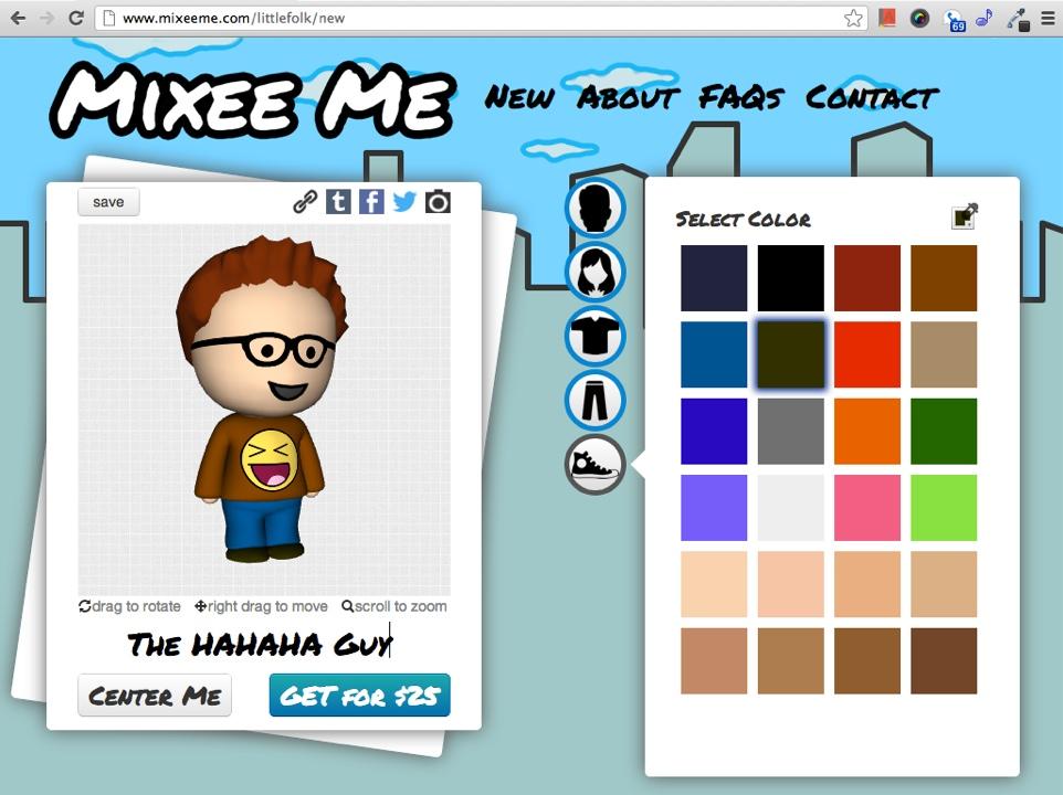 mixeeme interface