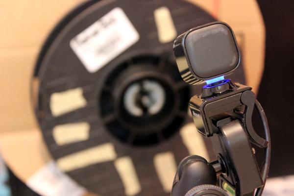 Auto detect filament jams with webcam